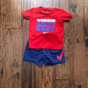Nike Baby Boy Shirt/Short Set